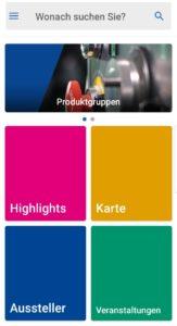 Die Weltleitmesse auf einen Blick: die EMO Hannover App unterstützt Ihren Messebesuch von der Planung bis zur Erfolgskontrolle.