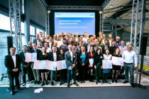 Founder competition group photo