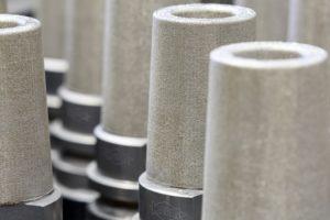 Durch den Einsatz additiver Verfahren hat Mapal die Temperaturbeständigkeit und Geometrie des Hydrodehnspannfutters deutlich optimiert.  Foto: Mapal
